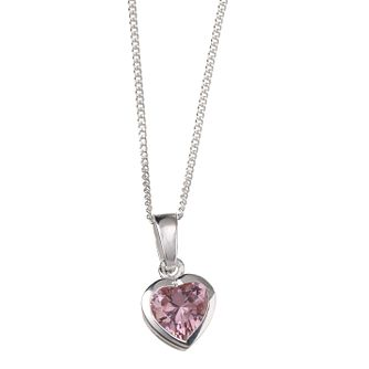Silver Heart Necklace - Product number 3465632