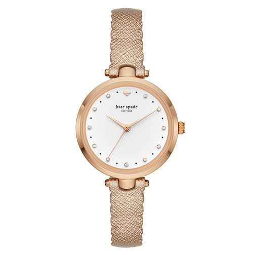 Kate Spade Holland Ladies' Rose Gold Plated Strap Watch - Product number 3466345
