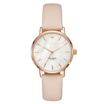 Kate Spade Metro Ladies' Mother of Pearl Strap Watch - Product number 3466485