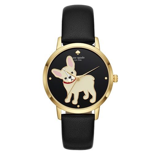 Kate Spade Metro Ladies' Yellow Gold Plated Strap Watch - Product number 3466493