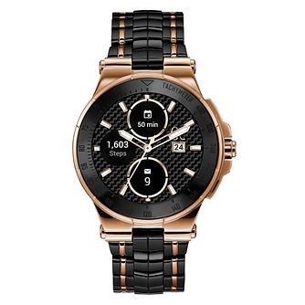 Gc Connect Men's Rose Gold Plated Bracelet Watch - Product number 3466639