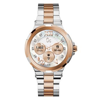 Gc Connect Ladies' Two Colour Bracelet Watch - Product number 3466655