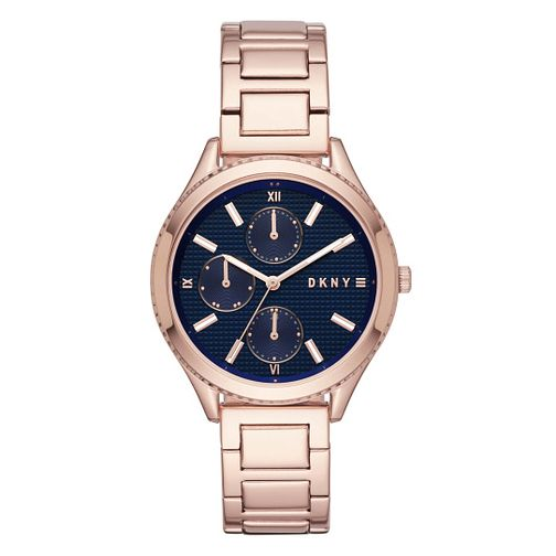 DKNY Woodhaven Ladies' Rose Gold Tone Bracelet Watch - Product number 3467864