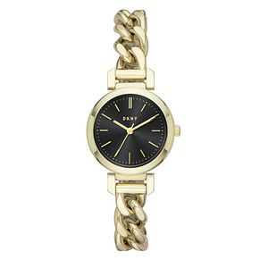 DKNY Ellington Ladies' Yellow Gold Tone Bracelet Watch - Product number 3467880