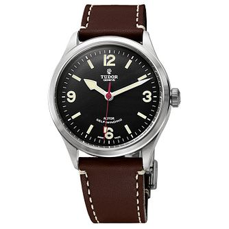 Tudor Heritage Range Men's Burgundy Strap Watch - Product number 3470288
