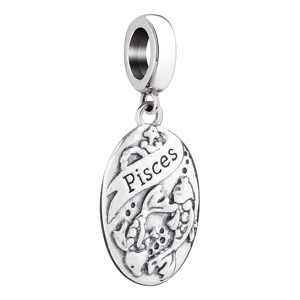 Chamilia Sterling Silver Pisces Zodiac Charm - Product number 3473430