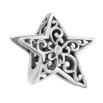 Chamilia Sterling Silver Stargazing Filigree Star Charm - Product number 3473457