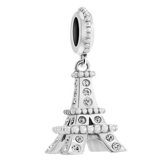 Chamilia Pave Eiffel Tower Charm with Crystal - Product number 3473694