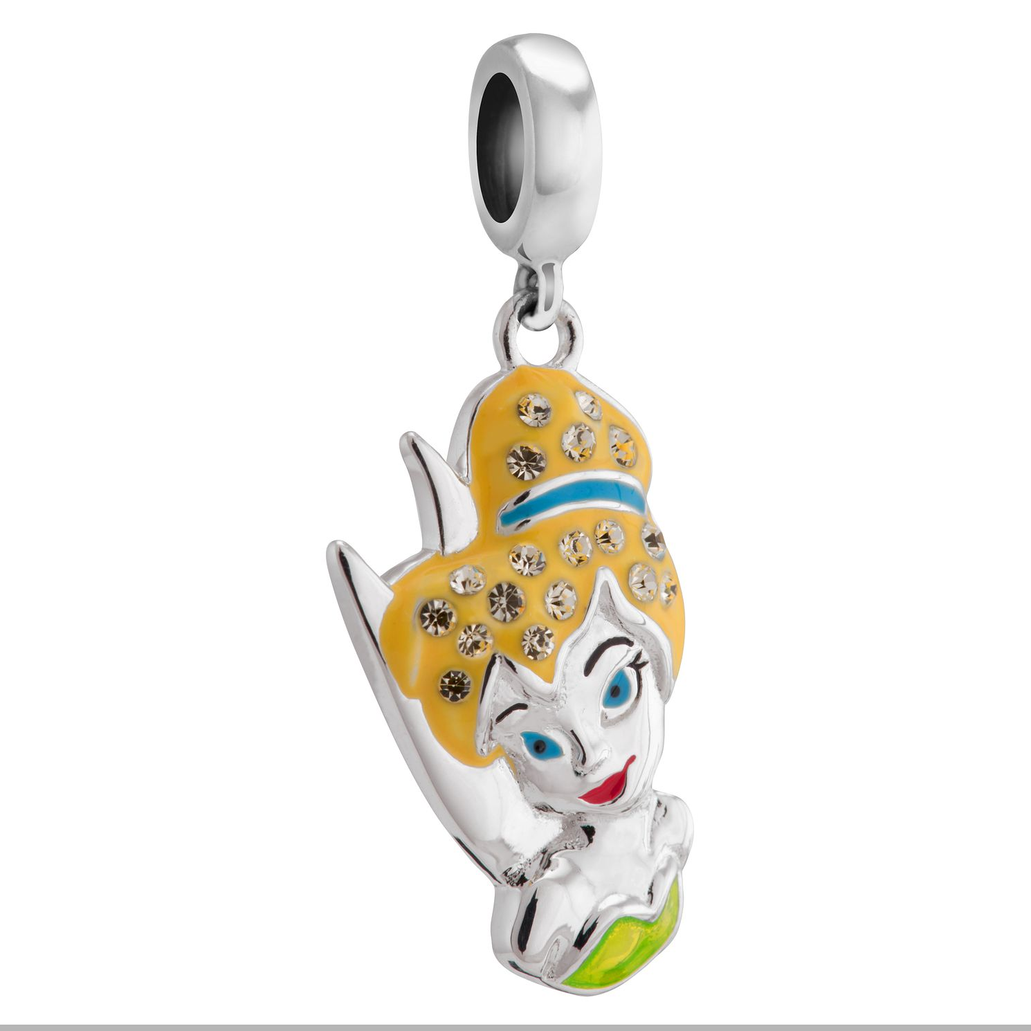 Chamilia Disney Tinker Bell Silver & Swarovski Charm - Product number 3474453