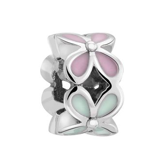 Chamilia Silver & Enamel Petite Rotating Flower Charm - Product number 3475670