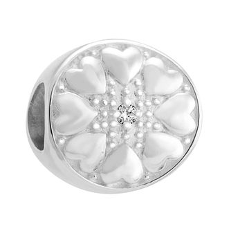 Chamilia Sterling Silver & Diamond Wheel Charm - Product number 3476480