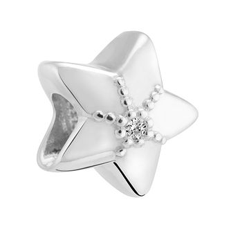 Chamilia Sterling Silver & Diamond Star Charm - Product number 3476553