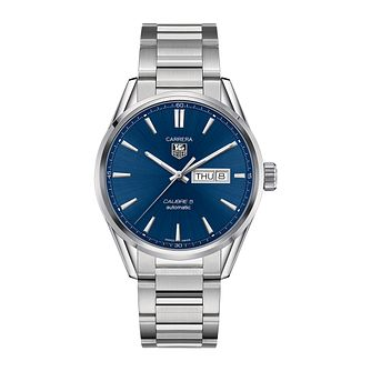 TAG Heuer Carrera 5 Men's Stainless Steel Bracelet Watch - Product number 3477770