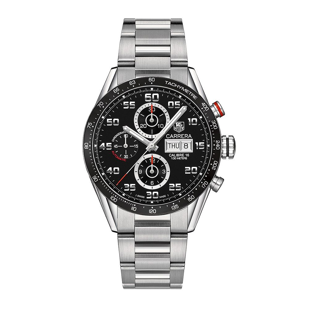 TAG Heuer Carrera 16 Men's Stainless Steel Bracelet Watch - Product number 3479196