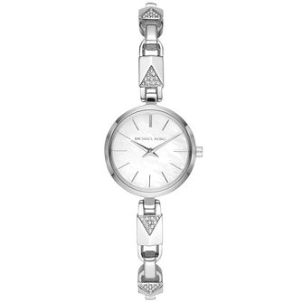 Michael Kors Jaryn Mercer Crystal Stainless Steel Watch - Product number 3479544