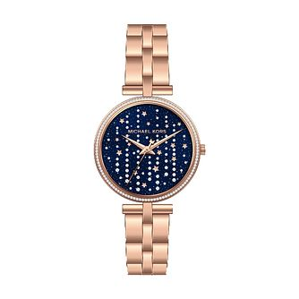 Michael Kors Maci Ladies' Rose Gold Tone Bracelet Watch - Product number 3479781