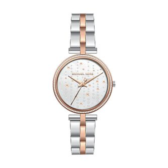 Michael Kors Maci Ladies' Two Tone Bracelet Watch - Product number 3479811