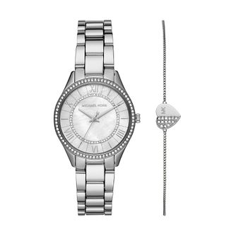 Michael Kors Lauryn Crystal Watch & Bracelet Gift Set - Product number 3481050