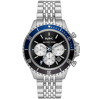 Michael Kors Bayville Men's Stainless Steel Bracelet Watch - Product number 3481093