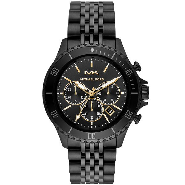 Michael Kors Bayville Men's Black Ip Bracelet Watch - Product number 3481115