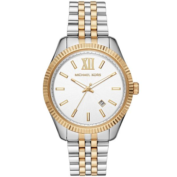 Michael Kors Lexington Men's Two Tone Bracelet Watch - Product number 3481166