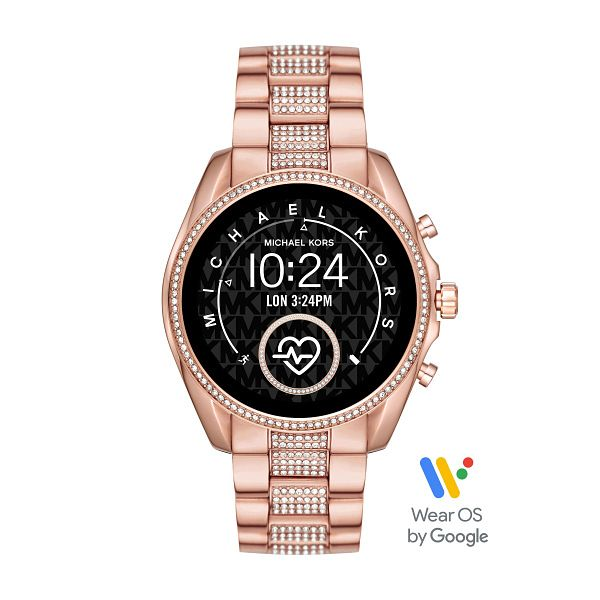 Michael Kors Bradshaw Gen 5 Crystal Gold Plated Smartwatch - Product number 3481220