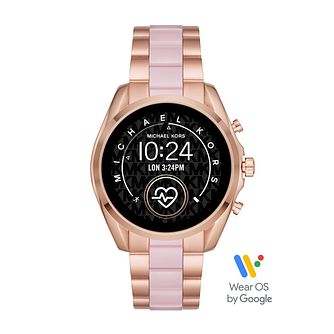 Michael Kors Bradshaw 2 Rose Gold Plated Bracelet Smartwatch - Product number 3481239