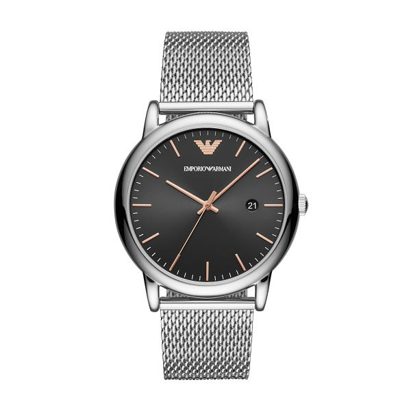 Emporio Armani Men's Stainless Steel Mesh Bracelet Watch - Product number 3482200