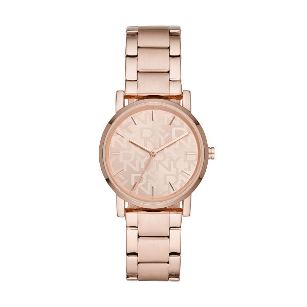 DKNY Soho Ladies' Rose Gold Tone Bracelet Watch - Product number 3482928
