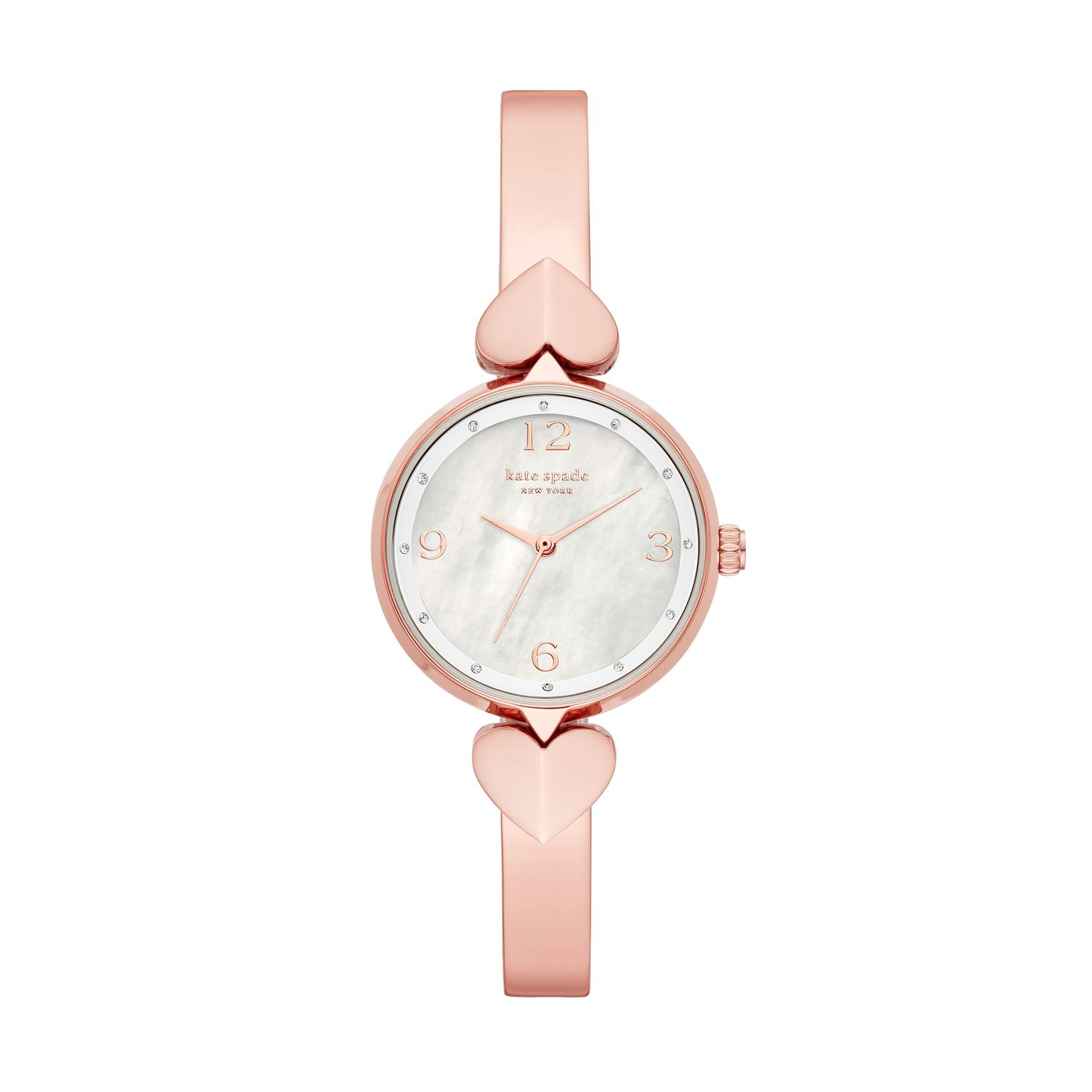 Kate Spade Hollis Ladies' Rose Gold Tone Bracelet Watch - Product number 3483436