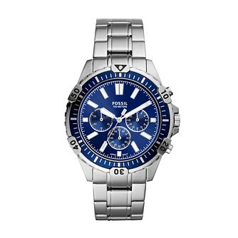 Fossil Garrett Men's Stainless Steel Bracelet Watch - Product number 3485137
