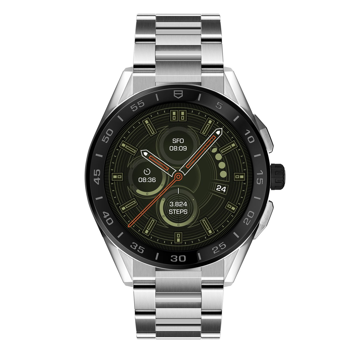 TAG Heuer Connected Stainless Steel Bracelet Watch - Product number 3501760