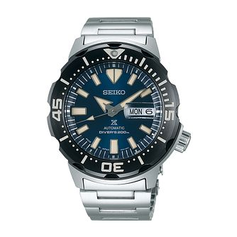 Seiko Prospex Monster Men's Stainless Steel Bracelet Watch - Product number 3510964