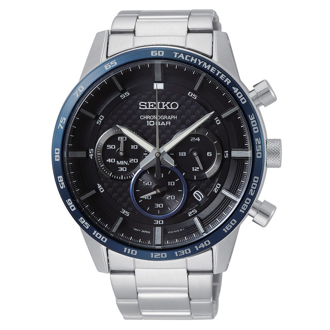 Seiko Chronograph Men's Stainless Steel Bracelet Watch - Product number 3511596