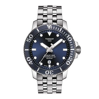 Tissot Seastar 1000 Powermatic 80 Silicium Men's Watch - Product number 3512355