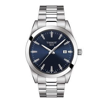 Tissot Gentleman Men's Stainless Steel Bracelet Watch - Product number 3513041