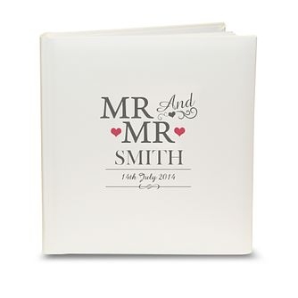 Personalised Mr & Mr Traditional Album - Product number 3513149