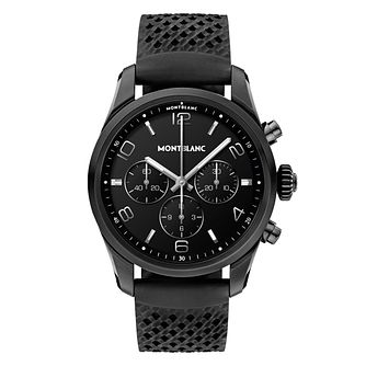 Montblanc Smart Summit 2 Black Rubber Strap Smartwatch - Product number 3524345
