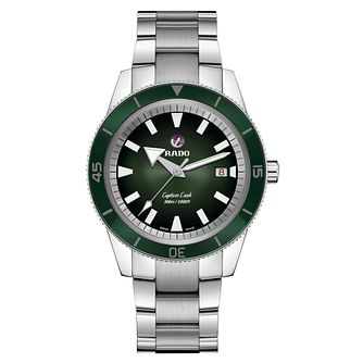 Rado Captain Cook Men's Stainless Steel Bracelet Watch - Product number 3524523