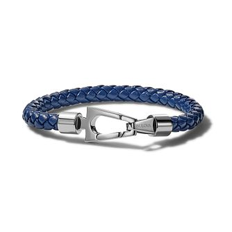 Bulova Marine Star Blue Leather Rope Bracelet - Product number 3532933