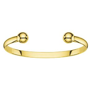 Men's 9ct Gold Torque Bangle - Product number 3544400