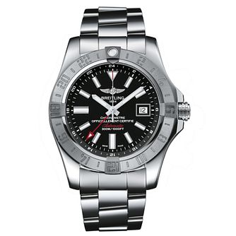 Breitling Avenger II GMT Men's Steel Bracelet Watch - Product number 3545946