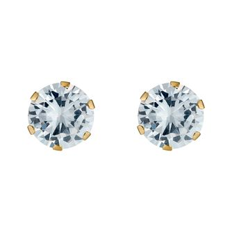 c3561a9de Gold Cubic Zirconia Earrings - Product number 3548848