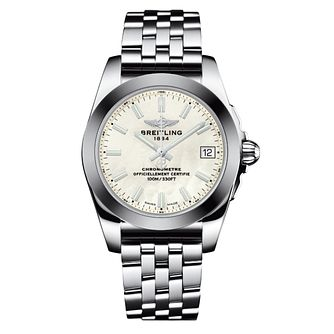 Breitling Galactic 36 Sleek Edition Ladies' bracelet watch - Product number 3558142