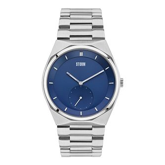 STORM Voltor Men's Blue Dial Stainless Steel Bracelet Watch - Product number 3562506