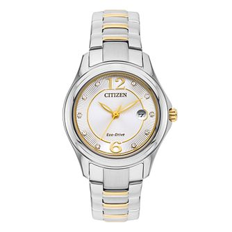 8ccbf0e38fbc2 Citizen Eco-Drive Ladies' Stainless Steel Bracelet Watch