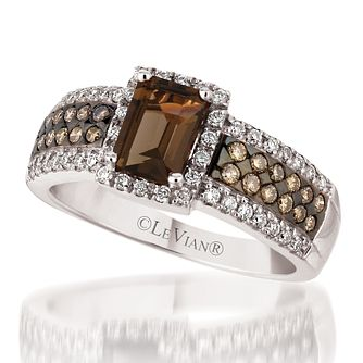Le Vian 14ct Vanilla Gold diamond & quartz ring - Product number 3575314