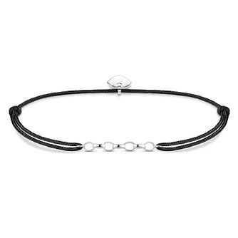 Thomas Sabo Ladies' Silver Black Bracelet - Product number 3575810