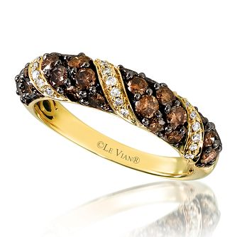 Le Vian 14ct Honey Gold  Diamond Ring - Product number 3578259