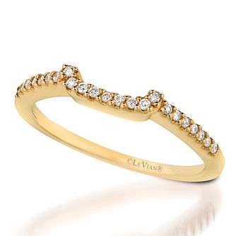 Le Vian 14ct Honey Gold Diamond Bridal Band - Product number 3582035